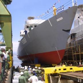 Σφοδρότατη επίθεση «γαλάζιων συνδικαλιστών» σε Σαμαρά – Βενιζέλο για τα ναυπηγείαΣκαραμαγκά