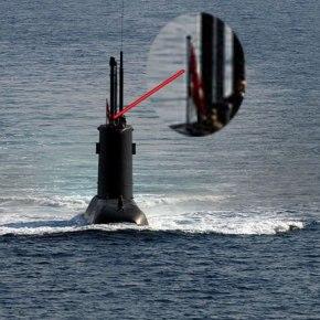 ΒΙΝΤΕΟ αβλαβούς διέλευσης τουρκικού υποβρυχίου στηΡόδο