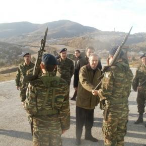 Επίσκεψη ΥφΕΘΑ σε φυλάκια της Καστοριάς και της Κόνιτσας(video)