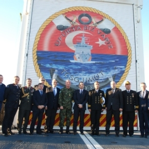Eπίσκεψη σκάφους της Τουρκικής Ακτοφυλακής στηνΑλβανία