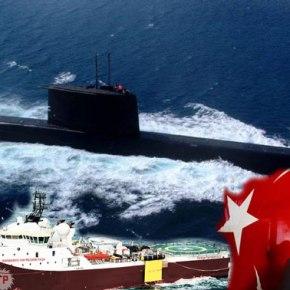 ΠΡΟΣΤΑΤΕΥΕ ΤΟ BARBAROS;   Σύγκρουση και παραλίγο βύθιση τουρκικού υποβρυχίου στην ΑνατολικήΜεσόγειο!