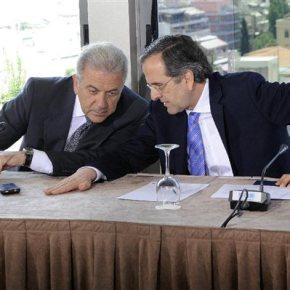 Εκαναν κρίσεις αρχηγων στις Βρυξέλλες Αβραμόπουλος-Σαμαρας.