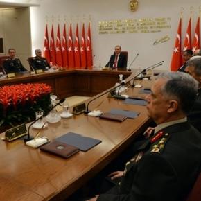 3 κρίσιμες αποφάσεις του Ανωτάτου Στρατιωτικού Συμβουλίου τηςΤουρκίας
