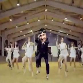 Σαμαράς χορεύει με Μέρκελ και Τσίπρας σε gangnam style! Βίντεο του κόμματοςαποστράτων!