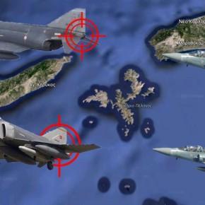 """Τι συνέβη στο Αιγαίο και γιατί τρόμαξαν οι Τούρκοι Χειριστές των F-4 από το """"LOCK"""";"""