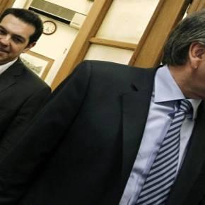 ΕΚΘΕΣΗ ΠΡΟΒΛΕΠΕΙ «ΙΣΤΟΡΙΚΟ ΣΥΜΒΙΒΑΣΜΟ».RBS: «Συγκυβέρνηση ΝΔ – ΣΥΡΙΖΑ στήνει η τρόικα μετά τιςευρωεκλογές»
