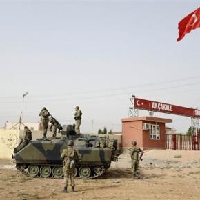 Συρία: Ούτε έναν ούτε δύο τόνοι τουρκικά όπλα-πυρομαχικά…