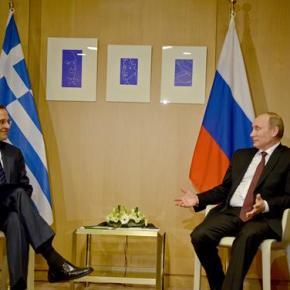 Πούτιν προς Σαμαρά: «Ξέρω τις δυσκολίες που περνάτε»Για φυσικό αέριο, τουρισμό και επενδύσεις σε τρένα και λιμάνια συζήτησαν Πούτιν καιΣαμαράς