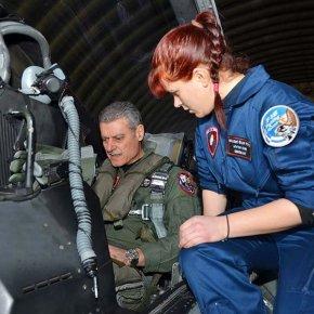 Πτήση Αρχηγού ΓΕΑ με F-16 Block 50 της 341Μοίρας
