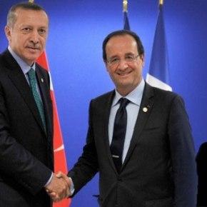 """Ο Φρανσουά Ολάντ ζήτησε από την Τουρκία να αναγνωρίσει την """"ΑρμενικήΓενοκτονία"""""""