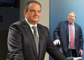 Μπάχαλο στη Βουλή, όταν ο Βενιζέλος επιτιθέμενος στο Καραμανλή είπε ότι δεν άσκησε ποτέ veto για ταΣκόπια…