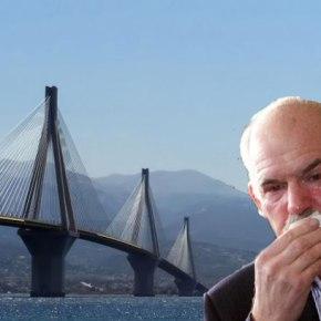 Βουτιά θανάτου 55χρονου από τη γέφυραΡίου-Αντιρρίου