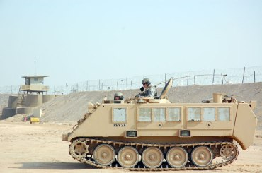 AAAusaf_m113_apc_at_camp_bucca_iraq