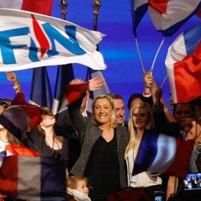 Μαρίν Λεπέν: «Να διαλυθεί η Ευρωπαϊκή Ενωση»Στόχος της αρχηγού της γαλλικής ακροδεξιάς η ανάδειξη του Εθνικού Μετώπου ως πρώτοκόμμα