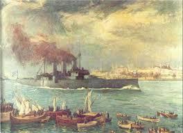 ΣΑΝ ΣΗΜΕΡΑ .Ο ελληνικός Στόλος συντρίβει τους Τούρκους στηΛήμνο