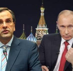 «ΛΙΩΝΟΥΝ ΟΙ ΠΑΓΟΙ»Σε εξέλιξη η συνάντηση Σαμαρά – Πούτιν στιςΒρυξέλλες