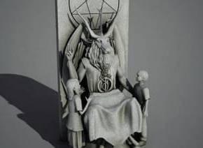 ΣΑΛΟΣ ΣΤΗΝ ΑΜΕΡΙΚΑΝΙΚΗ ΚΟΙΝΗ ΓΝΩΜΗ    Oκλαχόμα: Θέλουν να φτιάξουν μνημείο στο Σατανά(vid)
