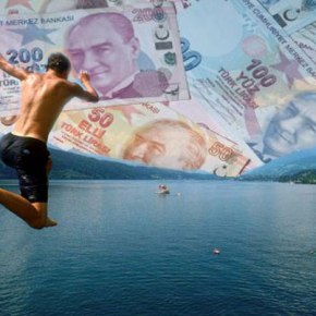 Η «βουτιά» της τουρκικής λίρας «βυθίζει» 500 ελληνικέςεταιρείες
