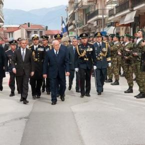 Παρουσία ΥΦΕΘΑ Θανάση Δαβάκη στις εορταστικές εκδηλώσεις για την απελευθέρωση των Ιωαννίνων, όπου εκπροσώπησε τηνΚυβέρνηση
