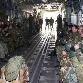 Εντυπωσιακή άσκηση 37th Airlift Squadron με 31η ΜΕΕΔ(ΦΩΤΟ)