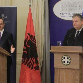 Βενιζέλος: «Η Αλβανία να είναι υποψήφια προς ένταξη στην ΕΕ» «Μπορεί να γίνει ακόμα και εντός της ελληνικήςπροεδρίας»
