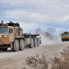 Ο στρατός των Η.Π.Α δοκιμάζει αυτόνομαφορτηγά