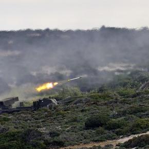 Η Ρόδος στις φλόγες! Στρατιωτική άσκηση με εντυπωσιακάστιγμιότυπα