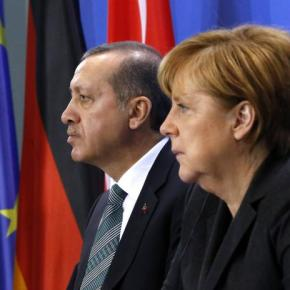 «Πόρτα» Μέρκελ στον Ερντογάν που ζήτησε στήριξη για την ευρωπαϊκήένταξη