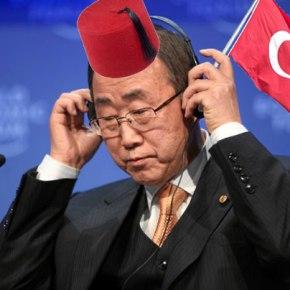 """Άνω- κάτω στην Κύπρο για την """"κοινότητα"""" του Ban KiMoon"""