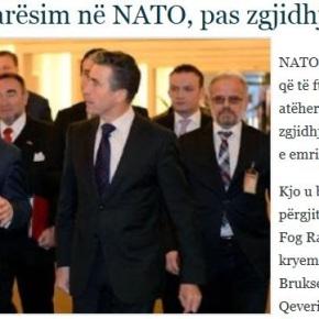 Ράσμουσεν σε Γκρούεφσκι: Πρόσκληση στο NATO μετά την επίλυση τουονόματος