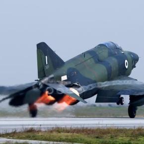 ΓΕΑ: Ασφαλή τα φωτογραφικά αεροσκάφηRF-4