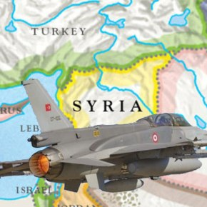 Οι Τούρκοι κατέρριψαν μαχητικό αεροσκάφος της Συρίας βάζοντας φωτιά στηνπεριοχή