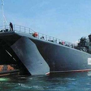 Ταχεία ναυπήγηση τεράστιου αποβατικού Στόλου ανακοίνωσε πριν λίγο ηΡωσία