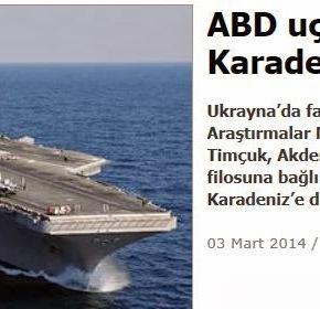 Αμερικανικό αεροπλανοφόρο κατευθύνεται στη ΜαύρηΘάλασσα