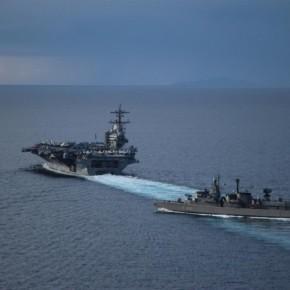 «Ναυμαχία» στην ΑΟΖ Κύπρου – 2 αεροπλανοφόρα ΗΠΑ και Ρωσίας εναντίονΤούρκων
