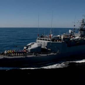 «Αλώνιζε» επι 20 ώρες στο Αιγαίο φθάνοντας μέχρι το Σούνιο η τουρκική κορβέτα«Bandirma»