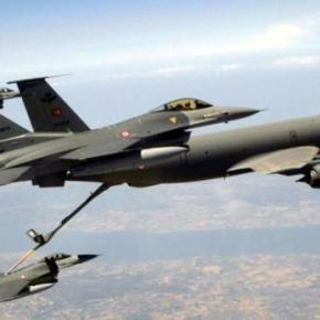 Τουρκικά F -16 σε πτήση αναχαίτισης ρωσικού αεροσκάφους στη ΜαύρηΘάλασσα
