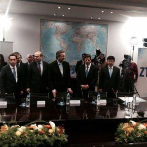 Η συμφωνία ΖΤΕ- Cosco καθιστά όχημα ισχυρής ανάπτυξης το λιμάνι του Πειραιά Υπέγραψαν την Τετάρτη επενδυτική συμφωνία παρουσία τουΠρωθυπουργού
