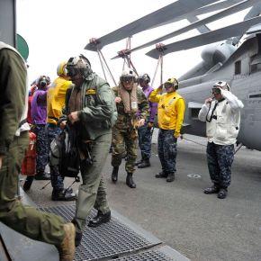 Έλληνες Αξιωματικοί στο ¨USS Bataan» που κυβε ρνάται απο τον ΕλληνοΑμερικανό.ΦΩΤΟΓΡΑΦΙΕΣ