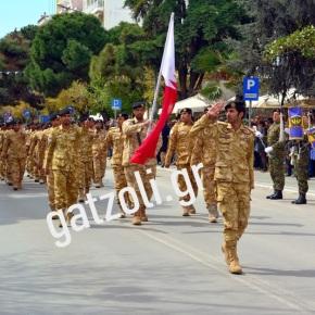 Καταριανοί στρατιώτες παρέλασαν στηνΑλεξανδρούπολη