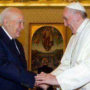 Πάπας Φραγκίσκος: O κ. Παπούλιας είναι ένας σοφόςάνθρωπος