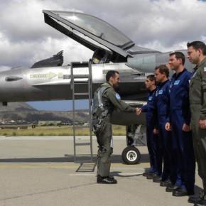 «Ζωγράφισε αερομαχίες» το F-16 «ΖΕΥΣ» σήμερα πάνω απο τη Ρόδο(video)