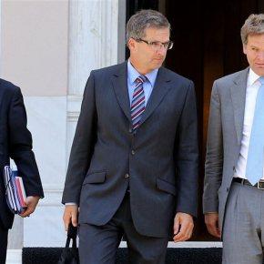Συνάντηση Στουρνάρα – τρόικας με παρουσία πολλώνυπουργών