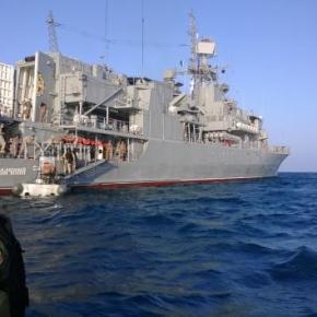 Αποπλέει από Σούδα για Σεβαστούπολη η ουκρανική φρεγάτα που έχειαυτομολήσει