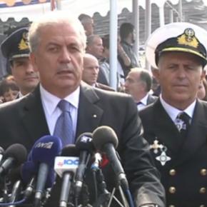 Δήλωση ΥΕΘΑ Δημήτρη Αβραμόπουλου μετά το πέρας της στρατιωτικής παρέλασης για την Εθνική Επέτειο της 25ηςΜαρτίου
