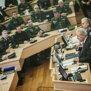 Ομιλία ΥΕΘΑ Δημήτρη Αβραμόπουλου στη Σχολή Εθνικής Άμυνας(ΣΕΘΑ)