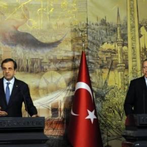 Συγχαρητήριο τηλεφώνημα Σαμαρά σεΕρντογάν