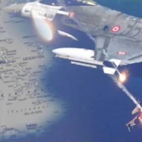 Τούρκικες Παραβιάσεις στο Αιγαίο …Δείτε πόσο επικίνδυνες είναι !(video)