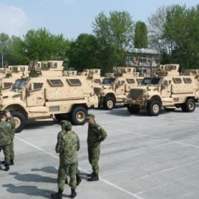 Οι ΗΠΑ δώρισαν τριάντα οχήματα MRAP στηνΚροατία