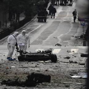 Τρομοκράτες «ανατίναξαν» το κέντρο της Αθήνας με 75 κιλά ΤΝΤ – Δράστης ο… αδειούχοςΧ.Ξηρός;